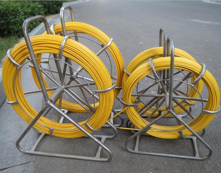 Flexible fiberglass rod fiber glass duct