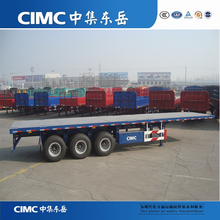 3 Axles Flatbed Semi Trailer To Carry All Kinds Containers,Side Wall Optional
