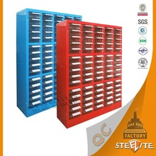 General Use Metal Tool Box With Drawers / Convenient Colorful Stainless Steel Tool Cabinet
