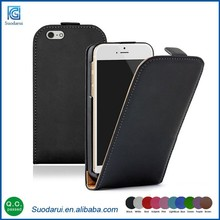 2015 Newest products Luxury Ultra Slim TPU leather flips case for iphone 6s cell phone case