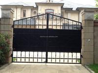 Bisini Luxury Swing Cast Iron Gate, Royal Mani Entrance Gate, Antique Driveway Gate