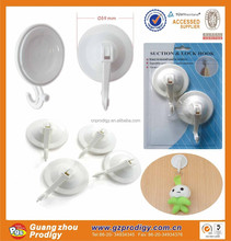 Heavy duty plastic vacuum cups and suction cups