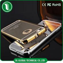 NEW Royal Luxury Aluminum Bumper Mirror Metal Phone Case For iPhone 5