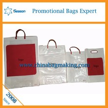 Custom Printed Luxury Boutique Plastic Shopping Bag With Hook