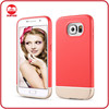 Stylish Trendy Color Slim Thin Hard Two Piece Detachable Coated Flawless Seamless Slider Case for Samsung Galaxy S6
