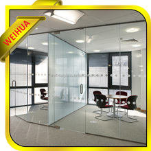 Excellent quality frosted glass room dividers,Office Partitions, half glass office partition