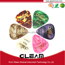 Gold Stamping Guitar Pick Sheet With Celluloid Material