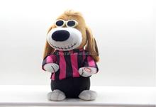 2015 Hot sale DJ dancing moving dog cool dancing music dog for kids gift