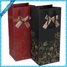 Wine paper carrier bag
