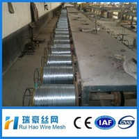0.25 to 4mm hot dipped or elctro galvanized steel wire