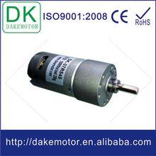 37 mm 12 V 24 V DC 37 mm micromoteur