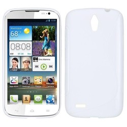 S-Shape TPU phone case for huawei g610 with different style