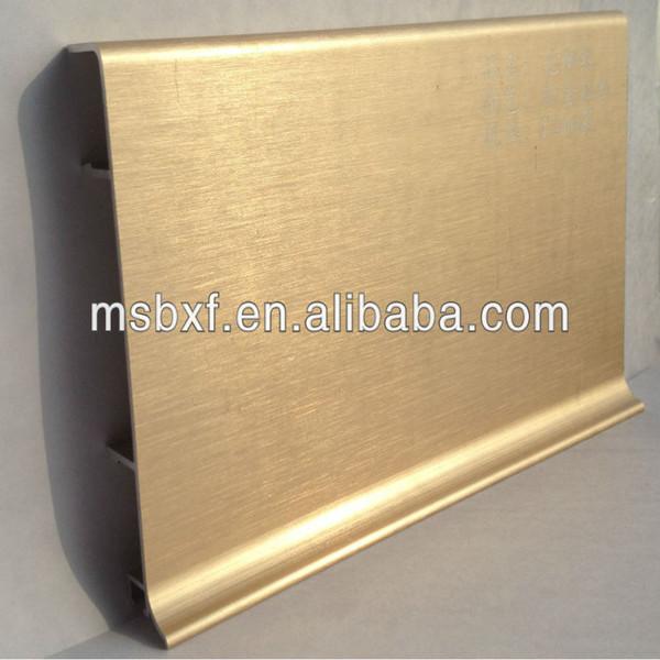Keuken Plint Profiel : Keuken Plint Profiel : installeren geborsteld aluminium keuken plint