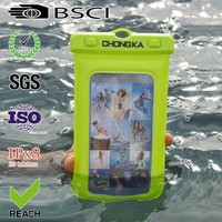 New design pvc mobile phone waterproof case for iphone