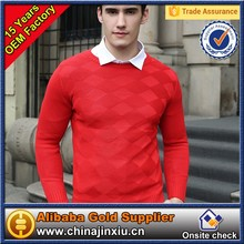 Wholesale garments united states sweaters brand 100% cotton knitted police sweater with custom logo
