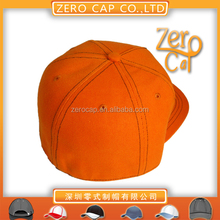 Common Fabric Feature and Character Style one size fitted caps snap back cap