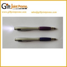 Promotional Plastic Ballpoint pen with LED Light/Screen Touch Ball pen