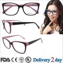 women pink eyeglass frames 2015 acetate picture frames european style eyeglass frames