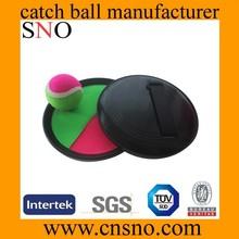 beach velcro catch ball game/catch ball toy