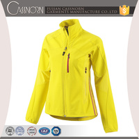 new design fishing hunting fashionable windproof soft shell jacket for women