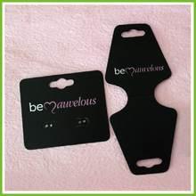 Hot! custom printed earring display cards wholesale (America)