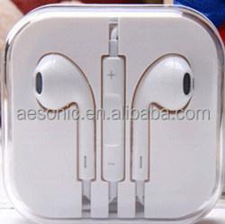 high quality fashion stereo earphone