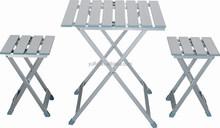 Camping table Garden table Patio table Alum. Folding picnic table set