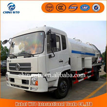 2015 new products SLA5161GXWDFL8 dfac tianjin 4x2 vacuum sewage suction truck/street cleaning truck/vacuum truck sale