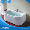 Q365 New style best acrylic bathtub with pillow