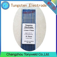 WT-20 2% Thoriated RED 3.2mm 1/8'' TIG tungsten electrodes