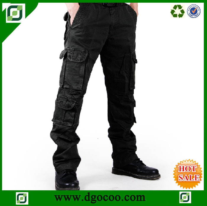 Cargo Pants For Men With Lots of Pockets Work Pants Men Military Cargo
