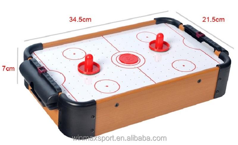 Wmg mini air hockey power hockey table family indoor sports