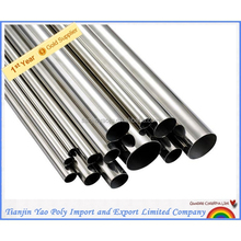 No.4 201 Stainless steel pipe for water and heating from china manufacture
