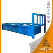 Bedroom Furniture Space Saving Kids Bed Guard Metal Personal Bed