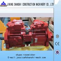 KAWASAKI Hydraulic piston pump, K3V112DTP16AR-9N49-Z piston pump used on SH200-3 Excavator, hydraulic pump