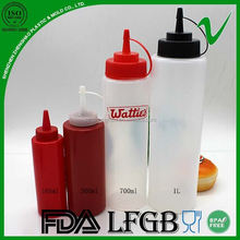 plastic squeeze sauce best selling new high quality bottle for kitchen use