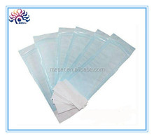 Beauty salon cosmetic tools plastic pouch, disposable pouch bag for artist travel, big size non-toxic sterilization pouch