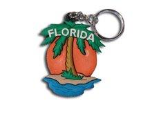 Custom Promotional Gift Pumpkin Key Chain Foot Boat BJO-K003