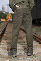 free army casual outsdoor blank trousers for men