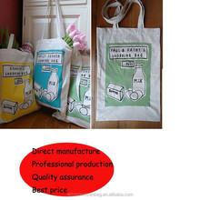 fashion style eco canvas cotton bag