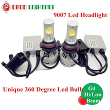 Unique 360 Degree Led Bulb, 12V 3200lm 9007 Unique 360 Degree Led Bulb