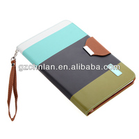 New arrival tablet leather flip case cover for ipad mini 2 back cover