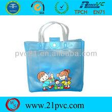 Good quality hot sale plastic PVC handbag