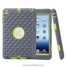 Rhinestone Tough Cover For Ipad Mini 1 2 3 Heavy Duty Case Shockproof 6 Colors