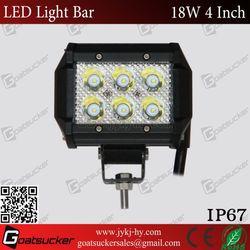 4''18w offroad led light bar,led light bar 18w auto parts toyota hilux