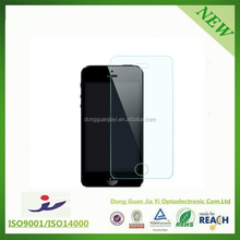 0.2mm / 0.15mm Color tempered glass / Anti shock screen protector film for iPhone 5 5c 5s