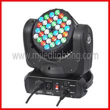 hot sale 36pcs 3w rgbw strobe effect cheap moving head led lights