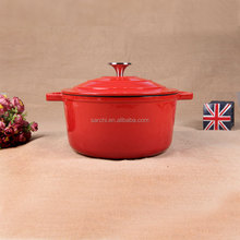 Hot sale email cast iron stewpot royalty line cookware