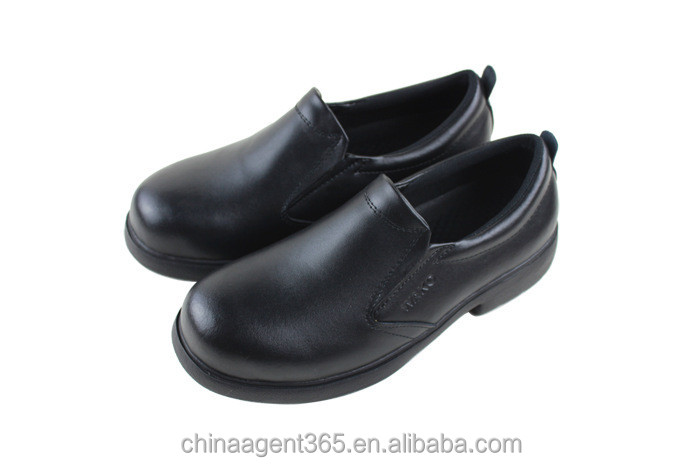 anti slip kitchen shoes genuine leather moccasin shoes