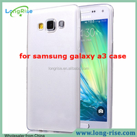 Alibaba Factory Cheap Price Invisible Translucence Ultra-thin TPU Cover for Samsung Galaxy A3 Case